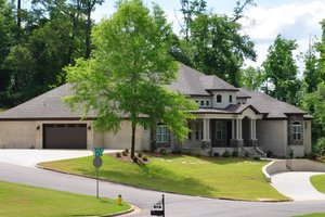 Dream House Plan - Left Front