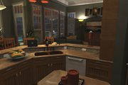 Craftsman Style House Plan - 3 Beds 2.5 Baths 2091 Sq/Ft Plan #120-162 Interior - Kitchen