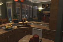 Architectural House Design - Craftsman Interior - Kitchen Plan #120-162