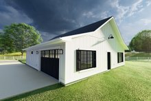 Home Plan - Farmhouse Exterior - Rear Elevation Plan #126-234