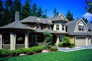 Craftsman Style House Plan - 4 Beds 3.5 Baths 4030 Sq/Ft Plan #132-159 Photo
