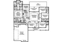 Country Floor Plan - Main Floor Plan Plan #21-378