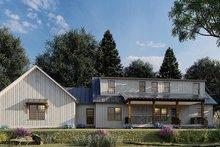Dream House Plan - Farmhouse Exterior - Front Elevation Plan #923-173