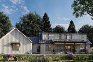 Farmhouse Exterior - Front Elevation Plan #923-173