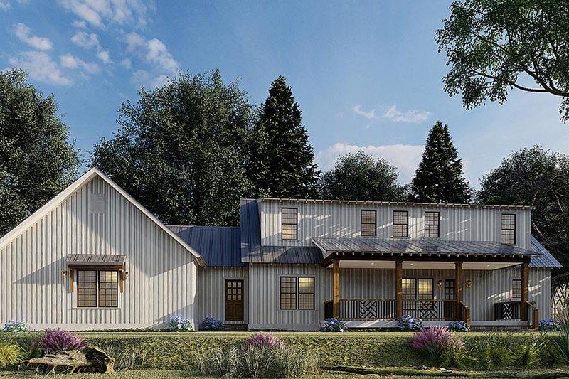 Home Plan - Farmhouse Exterior - Front Elevation Plan #923-173