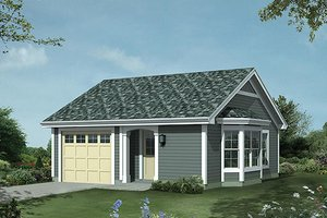 Traditional Exterior - Front Elevation Plan #57-397
