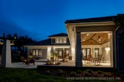 Bungalow Style House Plan - 3 Beds 3.5 Baths 3108 Sq/Ft Plan #930-19 Exterior - Rear Elevation