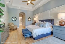 House Plan Design - Mediterranean Interior - Master Bedroom Plan #930-511
