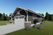 Craftsman Style House Plan - 2 Beds 2 Baths 1378 Sq/Ft Plan #1069-15