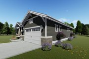 Craftsman Style House Plan - 2 Beds 2 Baths 1378 Sq/Ft Plan #1069-15