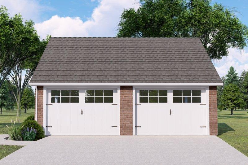 House Plan Design - Craftsman Exterior - Front Elevation Plan #1064-140