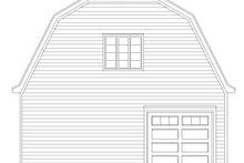 Dream House Plan - Farmhouse Exterior - Rear Elevation Plan #932-322