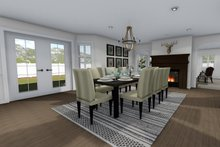 Architectural House Design - Farmhouse Interior - Dining Room Plan #1060-1