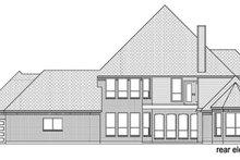 Dream House Plan - European Exterior - Rear Elevation Plan #84-509