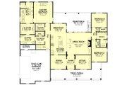 Farmhouse Style House Plan - 3 Beds 2.5 Baths 2570 Sq/Ft Plan #430-196 Floor Plan - Main Floor Plan