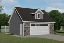Dream House Plan - Craftsman Exterior - Front Elevation Plan #1064-49