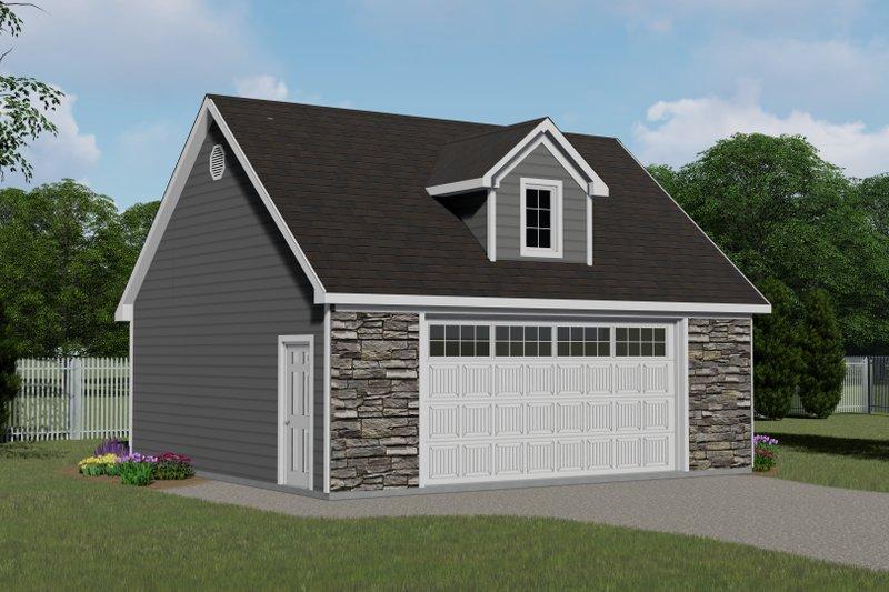 Home Plan - Craftsman Exterior - Front Elevation Plan #1064-49
