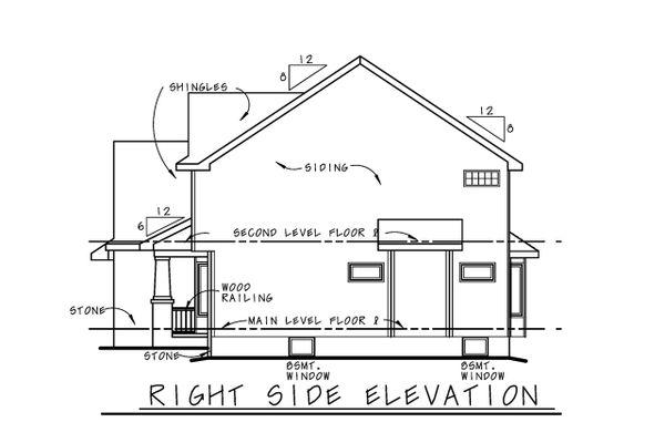 Craftsman Floor Plan - Other Floor Plan #20-2416