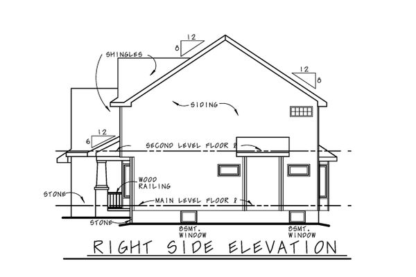 Architectural House Design - Craftsman Floor Plan - Other Floor Plan #20-2416