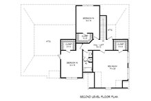 European Floor Plan - Upper Floor Plan Plan #932-29