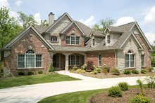 Home Plan Design - Country Exterior - Front Elevation Plan #57-337