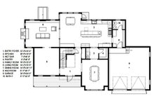 Traditional Floor Plan - Main Floor Plan Plan #497-44