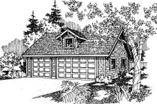 Home Plan - Craftsman Exterior - Front Elevation Plan #124-655