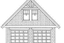 Craftsman Exterior - Other Elevation Plan #118-124
