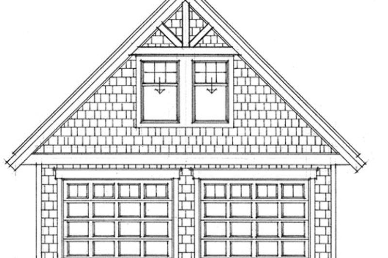 Craftsman Exterior - Other Elevation Plan #118-124 - Houseplans.com