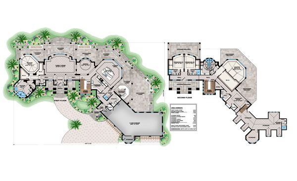House Design - Contemporary Floor Plan - Main Floor Plan #27-573