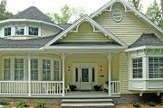 Country Style House Plan - 3 Beds 2 Baths 1800 Sq/Ft Plan #456-1 Exterior - Other Elevation