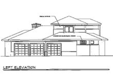 Dream House Plan - Exterior - Other Elevation Plan #124-211