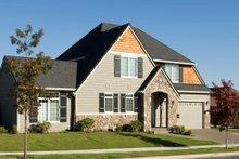 Craftsman Exterior - Other Elevation Plan #48-372