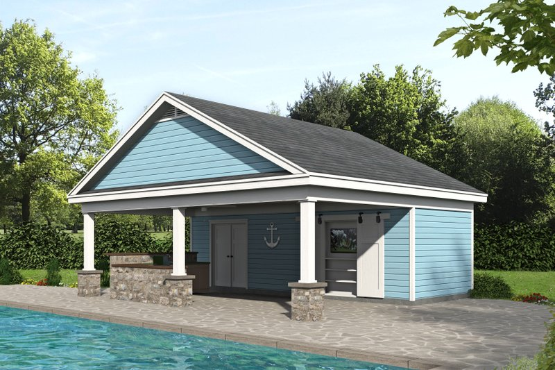 Dream House Plan - Country Exterior - Front Elevation Plan #932-110