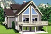Modern Style House Plan - 4 Beds 2 Baths 1831 Sq/Ft Plan #72-477