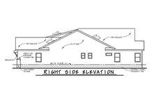 House Plan Design - Craftsman Exterior - Other Elevation Plan #20-2412