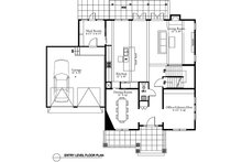 Traditional Floor Plan - Main Floor Plan Plan #497-20