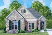European Style House Plan - 3 Beds 2 Baths 1421 Sq/Ft Plan #424-56