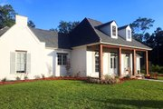 Country Style House Plan - 4 Beds 3.5 Baths 3073 Sq/Ft Plan #1074-23 Exterior - Other Elevation