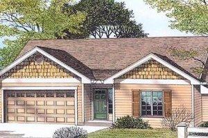 Craftsman Exterior - Front Elevation Plan #53-109
