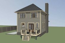 Southern Exterior - Other Elevation Plan #79-172