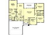 European Style House Plan - 4 Beds 2 Baths 1725 Sq/Ft Plan #430-68 Floor Plan - Main Floor Plan