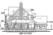 Country Style House Plan - 3 Beds 3 Baths 1882 Sq/Ft Plan #120-148 Exterior - Other Elevation