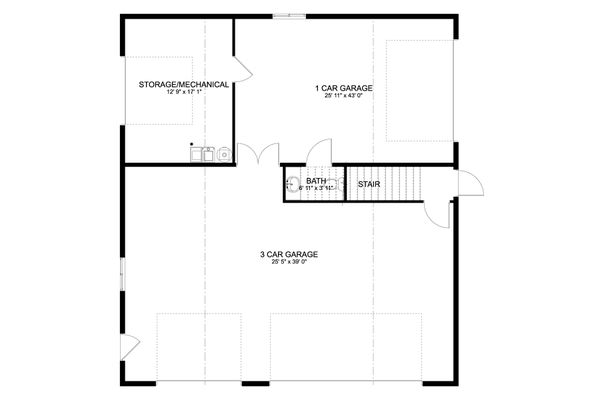 Dream House Plan - Farmhouse Floor Plan - Main Floor Plan #1060-82