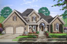 Traditional Exterior - Front Elevation Plan #46-869