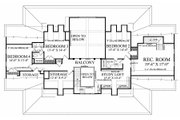Farmhouse Style House Plan - 4 Beds 3.5 Baths 4227 Sq/Ft Plan #137-282 Floor Plan - Upper Floor Plan