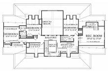 Farmhouse Floor Plan - Upper Floor Plan Plan #137-282