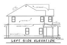 House Plan Design - Bungalow Exterior - Other Elevation Plan #20-1770