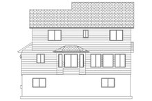 Architectural House Design - Traditional Exterior - Rear Elevation Plan #1060-4