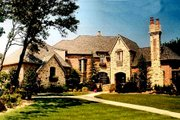 European Style House Plan - 5 Beds 5.5 Baths 4551 Sq/Ft Plan #52-167 Exterior - Front Elevation